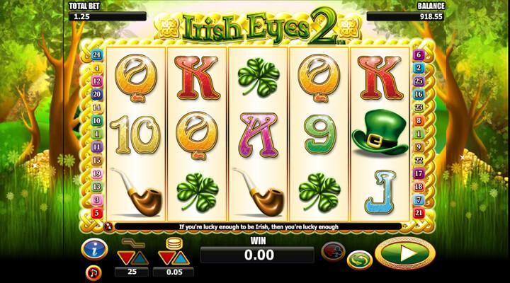 Irish Eyes 2 Slot Machine